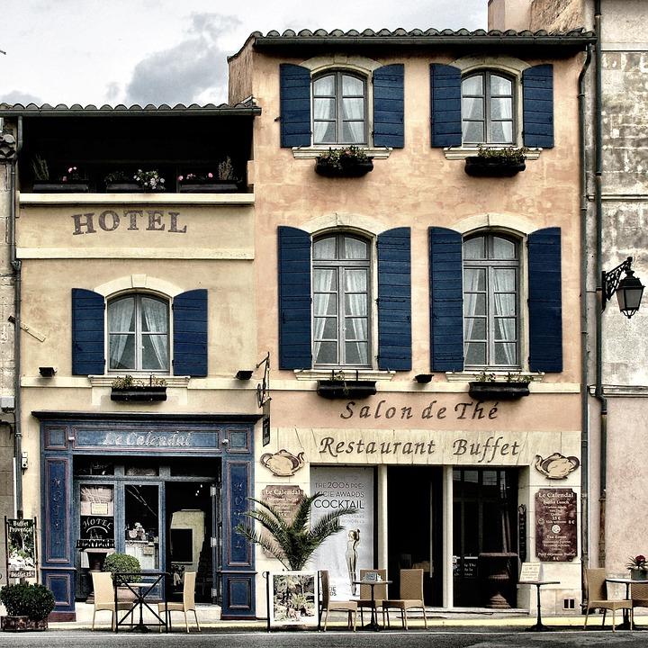 Hotel-oude-stijl